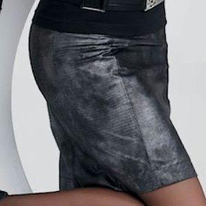 Jockey snakeskin pattern pencil skirt
